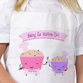 Personalized Mother & Daughter Apron Set - Baking with Mommy - 11855