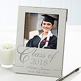 Personalized Silver Picture Frames - Graduation Class - 11857