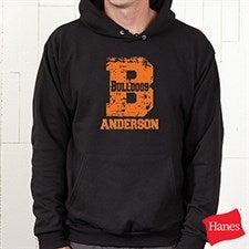 Personalized Athletic Sweatshirts - Go Team - 11898