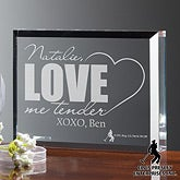 Personalized Elvis Romantic Gift - Love Me Tender - 11941