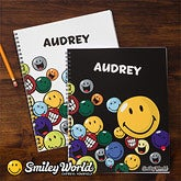 Personalized Smiley Face Notebooks for Kids - 11959