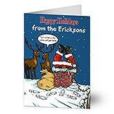 Personalized Christmas Cards - Merry Stressmas - 11969