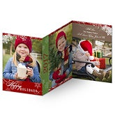 Personalized Photo Holiday Cards - 3 Panel - 11972
