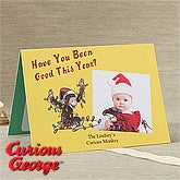 Personalized Christmas Cards - Curious George - 11974