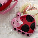 Girls Lunch Box Ice Packs - Ladybug - 11980