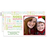 Personalized Digital Photo Christmas Postcards - All About Christmas - 11996