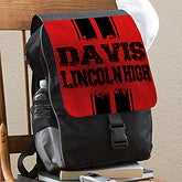Personalized Kids Backpacks - School Spirit - 12013