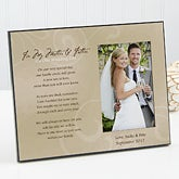 Wedding gifts for parents personalizationmall personalized wedding picture frame to my parents 12018 junglespirit Choice Image