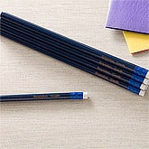 Personalized Blue 12pc Pencil Set