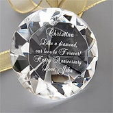 She's A Gem!© Engraved Diamond Keepsake