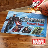 The Avengers Personalized Doormat - Captain America, Iron Man, Thor, Hulk - 12088