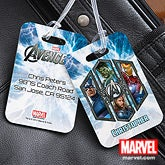 Personalized Luggage Tags - The Avengers - 12092