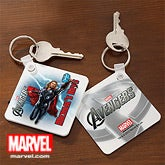 Personalized Avengers Key Rings - Iron Man, Hulk, Thor, Captain America - 12094