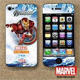 Personalized Avengers iPhone Skin - Iron Man, Hulk, Captain America, Thor - 12099