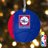 Personalized NBA Basketball Christmas Ornaments - 12101