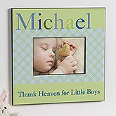 Personalized Baby Boy Picture Frames - Just for Them - 12105