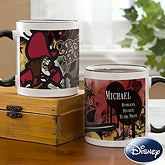 Personalized Disney Coffee Mugs - Captain Hook From Peter Pan - 12115