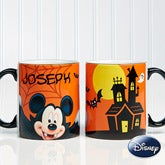 Personalized Mickey Mouse Coffee Mug - Halloween - 12120