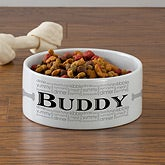 Personalized Dog Food Bowls - Doggie Delights - 12129