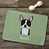 Personalized Dog Breed Meal Mats - 12131