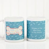 Personalized Coffee Mugs - I Love My Dog - 12135