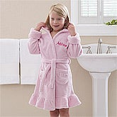 Personalized Kids Robes - Pretty In Pink - 12137