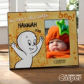 Personalized Halloween Picture Frames - Casper The Friendly Ghost - 12178