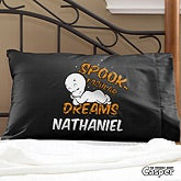 Casper The Friendly Ghost Personalized Halloween Pillowcase - 12184