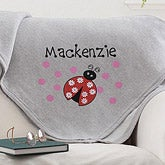 Personalized Sweatshirt Blanket for Girls - 12191