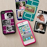 Photo Personalized iPhone 4 Case - Modern Collage - 12198