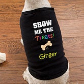Personalized Dog Shirts - Halloween Treats - 12207