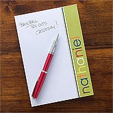 Personalized Kids Notepads for Boys - 12213