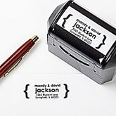 Personalized Self-Inking Address Stamp - Modern Address - 12223