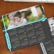 Personalized Photo Calendar Mouse Pads - 12232