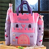 Personalized Halloween Trick or Treat Bags - Princess Castle - 12240