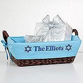 Personalized Hanukkah Gift Basket - 12251