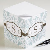 Personalized Ladies Note Pad Cubes - Trendy Signature - 12268