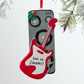 Personalized Guitar Christmas Ornaments - Rock On - 12282