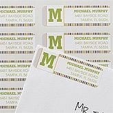 Personalized Return Address Labels - Stylish Stripes - 12294