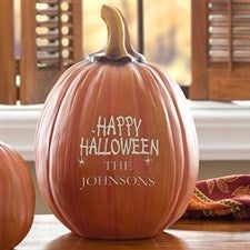 Personalized Halloween Decorations - Happy Halloween Pumpkin - 12300