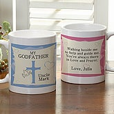Personalized Godparent Coffee Mug - Godmother and Godfather - 1233