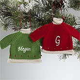 Personalized Christmas Ornaments - Christmas Sweater - 12335