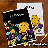 Personalized Smiley Face Folders - 12347