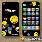 Personalized iPhone Skins - Smiley Face - 12354