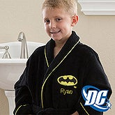 Personalized Kids Robes - Batman - 12360