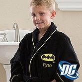 Personalized Kids Robes - Batman - 12360