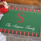 Personalized Holiday Doormats - Christmas Spirit - 12367
