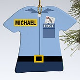 Personalized Christmas Ornaments - Mail Man - 12376