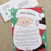 Personalized Letter From Santa - Santa's Watching - 12410