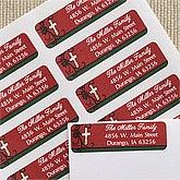 Personalized Address Label - God Is Love Cross - 12425